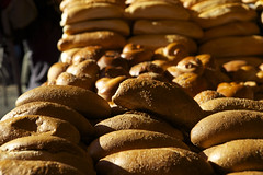(Caitlin H. Faw) Tags: light shadow color canon bread landscape eos israel market jerusalem may 5d marketplace loaf yehuda yerushalayim markiii 2013 mahane mahaneyehudamarket caitlinfaw caitlinfawphotography