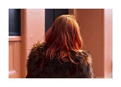foxy (jrockar) Tags: street red orange 3 london fashion canon hair fur 50mm ginger photo head mark candid coat iii 14 madness instant 5d moment 50 ef mk ordinary decisive 5014 ordinarymadness