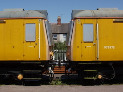 117. 960303 + 960302 Cardiff Brickyard 05-June-08; Ref-D37-P3 (paulfuller128) Tags: station train 150 180 121 railways 142 170 155 175 158 156 143 arriva 159 dmu arrivatrainswales