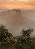 Shrouded in Mist (Chris Beard - Images) Tags: uk morning mist sunrise landscape dawn dorset mists corfecastle