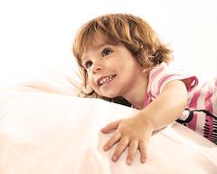 Maisie (Rapidrat) Tags: pink girl smile face smiling canon bag studio children fun happy toddler child photoshoot little bean fullframe 24105mm canoneos6d