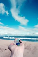 18-9-2013 (Copperhobnob) Tags: sea sky cloud sun beach water glass beautiful landscape coast scotland sand waves colours aberdeenshire foam seas stcombs stcombsbeach