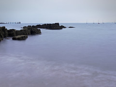 Nothing much to sea (explore) (kenny barker) Tags: longexposure scotland fife explore minimalist aberdour hawkscraigjettyaberdour kennybarker