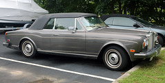 ny bronze rr convertible rollsroyce corniche bridgehampton beater cabriolet topup dented dinged