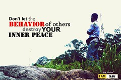 Don't let behavior of others destroy your inner peace (SAG.photo) Tags: shahrul azizan