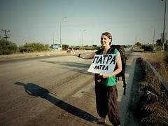 En route pour Patras, Grèce