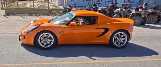 orange lotus elise 2007 330hp