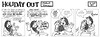 Holiday Out 805 (Michael Vance1) Tags: art comics artist satire humor fantasy comicbook parody comicstrip satyr cartoonist funnyanimals