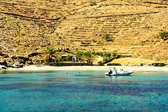 A mooring in the Cyclades (antonioVi (Antonio Vidigal)) Tags: island greece catamaran mooring cyclades bossanova kythnos kithnos bosanova antoniovidigal antonivi nisos nisoskithnos