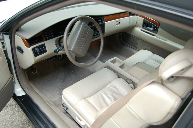 white exterior interior shift center delete cadillac eldorado 1993 column 1992 console