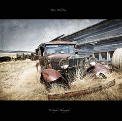 Better With Time (DeVaughnSquire) Tags: old cars abandoned field grass thanks vintage found rustic textures forgotten homestead saskatchewan prairies farmstead