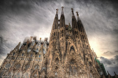 Sagrada Família HDR (Scott Cartwright Photography) Tags: barcelona architecture canon spain creepy spooky hdr professionalphotographer sagradafamília antonigaudí canoncameras scottcartwright shrewsburyphotographer shropshirephotographer shrewburyfreelancephotographer scottcartwrightphotography shropshirefreelancephotographer shrewsburyprofessionalphotographer