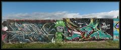Seok Sea Kalm (Gramgroum) Tags: street art graffiti marseille h2o pm opk seok iks kalm misterkalm onekalm