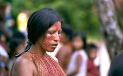 058 Slides-Amazon5 (Phytophot) Tags: iquitos peru amazon woman traditional tribe yagua tambo tamshiyacu