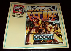03 Thunder Mountain - Great Escape, The by Ocean (1986), Instructions (Ocean & Imagine Collection) Tags: ntsc 1986 thundermountain greatescape oceansoftware c64disk