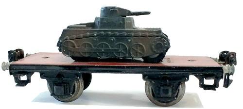 Marklin vagone con carro armato