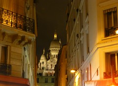 Paris balad bynight: Montmartre- Basilique du Sacré-Cœur (valkiribocou) Tags: paris balade baladeparisienne serrisbalad randobalade