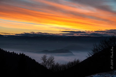 The dawn of a new day ... _01 (PaoloBis) Tags: morning panorama mountain maana berg clouds montagne sunrise landscape nikon nuvole view alba wolken paisaje amanecer silence nubes vista getty montaa nuages paysage landschaft veduta sonnenaufgang morgen montagna vue blick paesaggio silencio gettyimages matin mattino newday silenzio schweigen d90 salidadelsol feltre leverdusoleil nuevodia albor nuovogiorno crocedaune paolobis