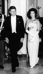 38125719jack_20010711_01484.jpg (arina_fashions) Tags: white black history fashion lady ball photography dc washington couple unitedstates political politics formal jacqueline tie first db presidential historic jfk full route event tuxedo politician archival length gala gs aa