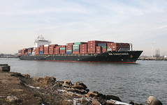 ZIM CONSTANZA in New York, USA. Feb 2014 (Tom Turner - SeaTeamImages / AirTeamImages) Tags: city nyc usa newyork water port bay harbor marine ship unitedstates harbour transport vessel spot cargo container pony maritime transportation statenisland containership zim bigapple channel spotting waterway tomturner killvankull zimconstanza