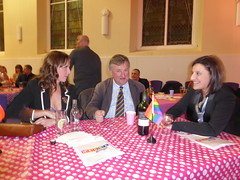 "Oliver Colvile with Jen and Emma • <a style=""font-size:0.8em;"" href=""https://www.flickr.com/photos/66700933@N06/12425484204/"" target=""_blank"">View on Flickr</a>"