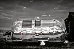 Airstream USA (Jez22) Tags: copyright classic beach home mobile wagon landscape outside freedom coast kent britain background steel 1954 adventure dungeness leisure trailer caravan airstream camper isolated jeremysage potd:country=gb