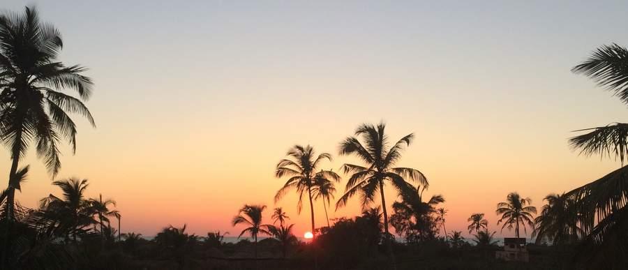 Закат над Аравийским морем