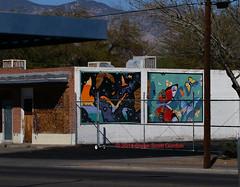 abandoned building murals (tat2dqltr) Tags: mural tucson publicart tucsonarizona