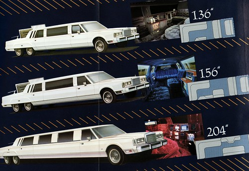 1986 Lincoln Town Car Limousines By National Coach Engineering A