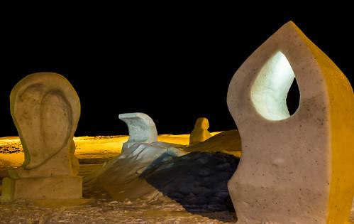 Isskulpturene på Stangnes