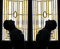 i inhaled just a little bit now i got no fear of death. (Amy Fleming) Tags: door portrait window glass silhouette photography day amy smoke dream silhouettes edward 40 zeros sel magnetic hookah fleming sharpe
