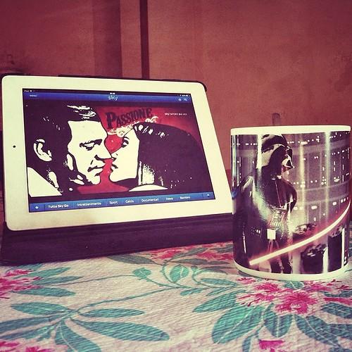 #buongiorno #passion #skygo & #starwars #coffee