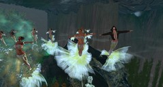 The Avilion MerBallet Company - The Dreaming Tree (Osiris LeShelle) Tags: show life ballet mer tree underwater dancing performance medieval dreaming fantasy secondlife second roleplay merfolk avilion thedreamingtree