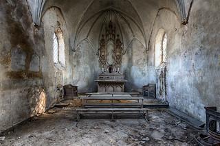 Urbex Chapelle de la Meuse
