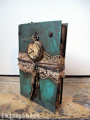 The Eternal Journal (Phizzychick!) Tags: sculpture art clock archaeology book journal phizzychick