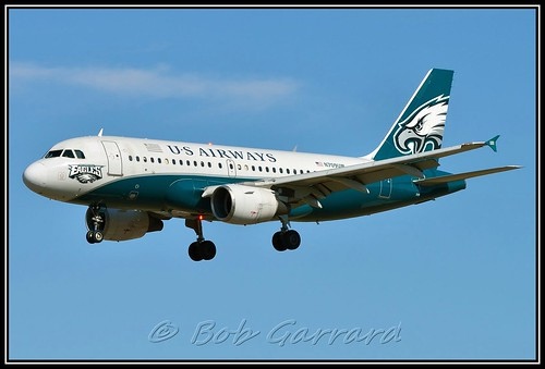 "N708UW US Airways ""Philadelphia Eagles"""