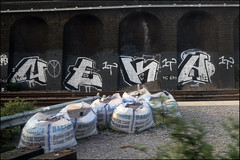 Neka 1T (Alex Ellison) Tags: urban graffiti chrome graff trackside neka northwestlondon 1t nekah neks