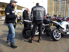 30/03/14 SOUTHPORT. The Pier. Alpinestars (Lachlan Main) Tags: lancashire southport bikers alpinestars southportpier