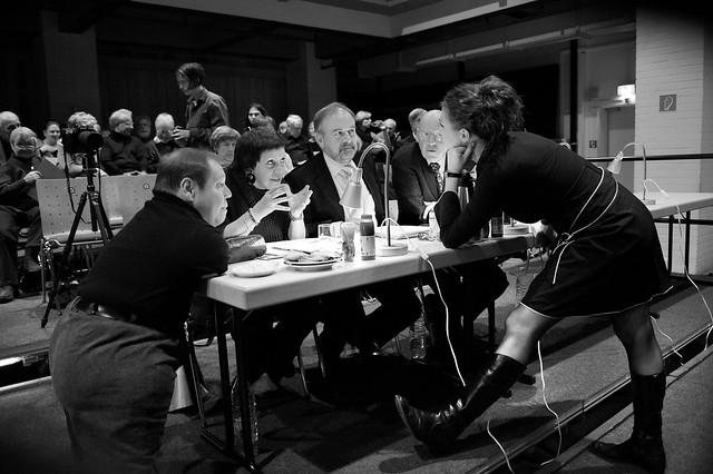 Die Jury © Ruth Walz