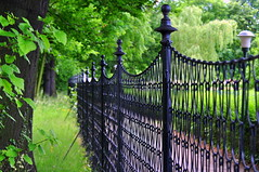 _garden fence (SpitMcGee) Tags: park fence dresden sachsen zaun pillnitz hff augustderstarke sommerresidenz spitmcgee happyfencefriday