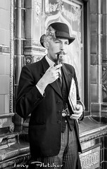 'CRICH TRAMWAY VILLAGE 1940's' - 5th-6th APRIL 2015 (tonyfletcher) Tags: portrait vintage model 1940s homefront 40s crich crichtramwayvillage tonyfletcher crich1940s whitbygothscenecouk crich1940sevent crich1940s2015 tonyfletcher2001yahoocom