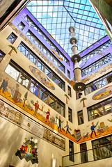 Messeplast Specks Hof (Smiley Man with a Hat) Tags: building architecture germany deutschland spring saxony leipzig sachsen architektur altstadt gebude frhling 2014 reichsstrase messeplastspeckshof