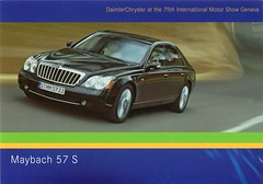 2005 Maybach 57 S (aldenjewell) Tags: 2005 show mercedes benz geneva postcard s international motor chrysler 75th 57 daimler maybach