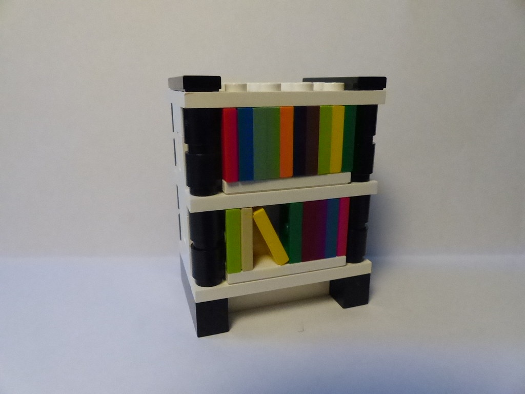 awaited bookshelf lego long the