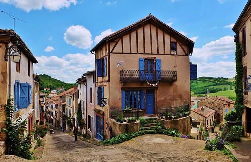 Cordes-sur-Ciel (Корде-сюр-Сьель)