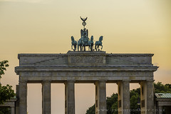Brandenburg Gate / Brandenburger Tor, Berlin, Germany
