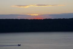Hudson Sunset (johnruscombe1965) Tags: nyc newyorkcity sunset summer usa ny newyork river evening boat newjersey bronx unitedstatesofamerica nj hudsonriver thebronx goldenhour palisades riverdale july252015