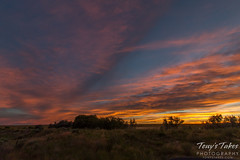 July 12, 2015 - Sunset on the plains of Colorado. (Tony's Takes)