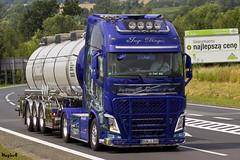 """Volvo FH IV Globetrotter XL """" INGO DINGES TRANSPORTE """" (D) (magicv8m) Tags: truck transport master trans ingo lkw tir 2015 dinges"""