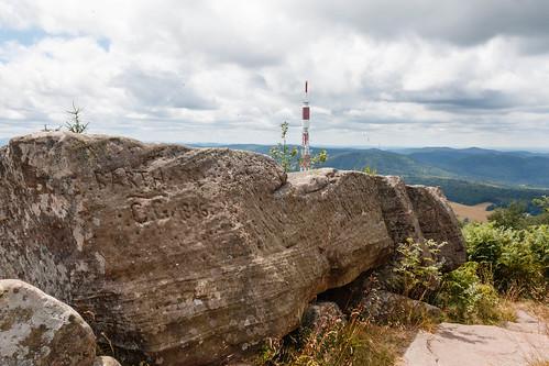Ascension vers le sommet du Donon